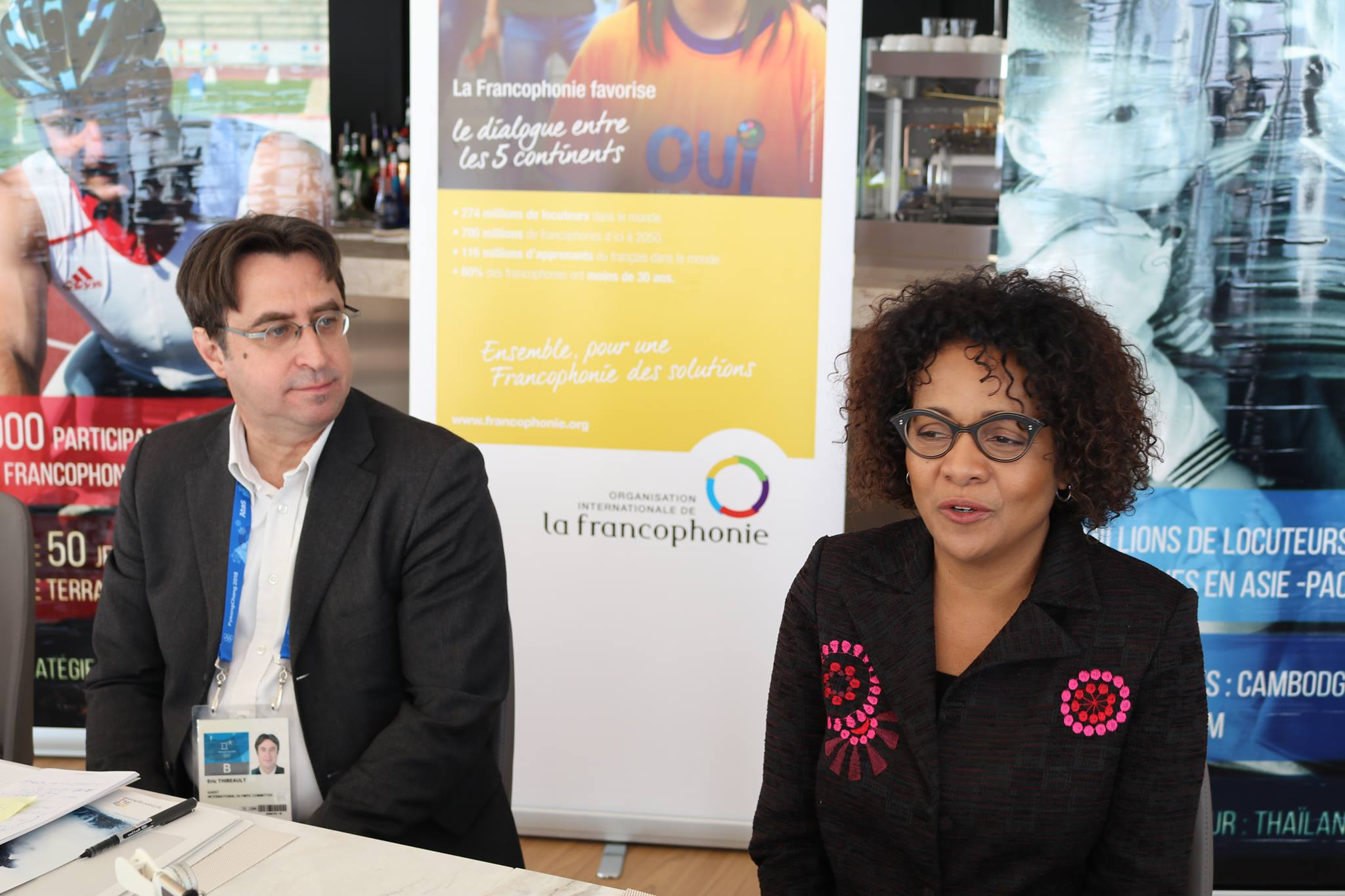 Eric Normand Thibeault Michaelle Jean