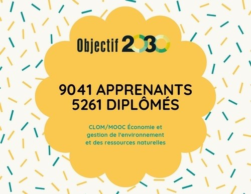 Plus de 9000 apprenants pour la 1e session du CLOM sur l'Éco ... Image 1
